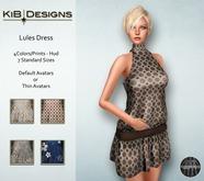KiB Designs - Lules Dress FATPACK