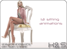 <K&S> 13 sitting animations. Full Perm