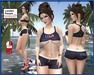USA Top & Shorts Skater Set - Independence Day - 4th July