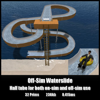 Off-Sim Waterslide *0.415ms* Both on-sim and off-sim use
