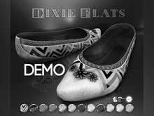 DEMO - Pure Poison - Dixie Flats - Ad - ons for Maitreya, SLINK and The Mesh Project Flat Feet