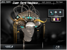 Queen Sarra Headpiece  -Shu Mesh-