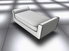 VervE White Modern Sofa