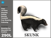 [TomatoPark] Skunk Mesh 3.31 ( roaming + wearable )