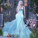 Sol Dress Mesh (Aqua) [MAITREYA - BELLEZA - SLINK]
