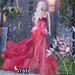 Sol Dress Mesh (Cherry) [MAITREYA - BELLEZA - SLINK]