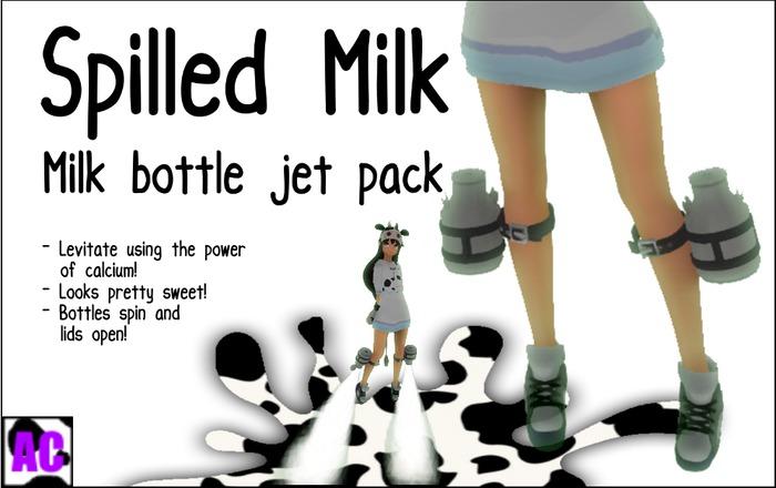 [Anticow] Spilled Milk Leg Jets