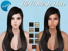 AVA Rigged Mesh Hair