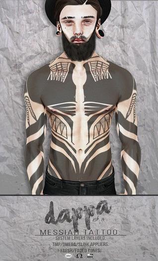 DAPPA - Messiah Tattoo.
