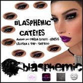 BLASPHEMIC - CATEYES - GOLDEN - TESTCOLOR