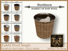 TTR-[G&S] Wool Single BOXES & TEXTURES ~ FULL PERM