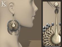 (Kunglers) Vilma earrings - Jasper