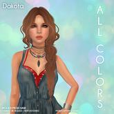 /Wasabi Pills/ Dakota Mesh Hair - All colors