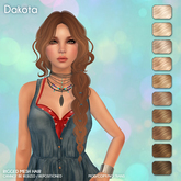 /Wasabi Pills/ Dakota Mesh Hair - Blonds