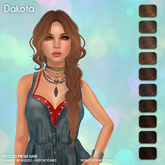 /Wasabi Pills/ Dakota Mesh Hair - Browns