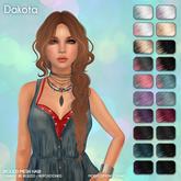 /Wasabi Pills/ Dakota Mesh Hair - Lunar Ombre