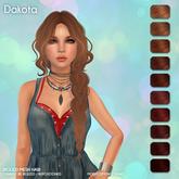 /Wasabi Pills/ Dakota Mesh Hair - Reds