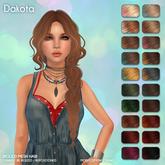 /Wasabi Pills/ Dakota Mesh Hair - Solar Ombre