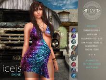 Artizana - Iceis Shine Collection - Mesh Dress
