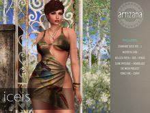 Artizana - Iceis I - Mesh Dress