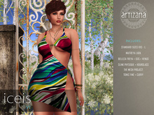 Artizana - Iceis VI - Mesh Dress