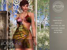 Artizana - Iceis II - Mesh Dress