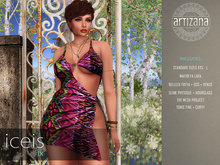 Artizana - Iceis IX - Mesh Dress