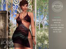 Artizana - Iceis V - Mesh Dress