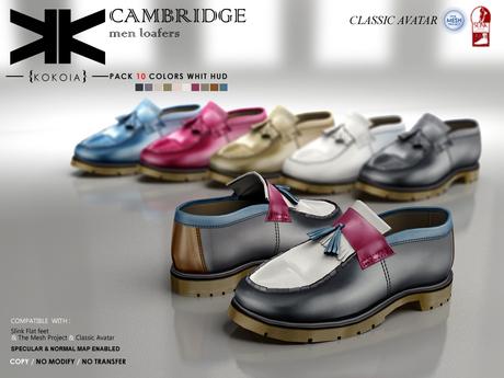 Cambridge :: man shoes :: 10 Colors :: {kokoia}