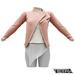 TETRA - Biker Leather Jacket (Pink)
