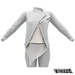 TETRA - Biker Leather Jacket (White)