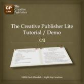 The Creative Publisher Lite Tutorial / Demo (boxed)