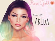 .Rose Gold. Akida PSD Full Permission Skin