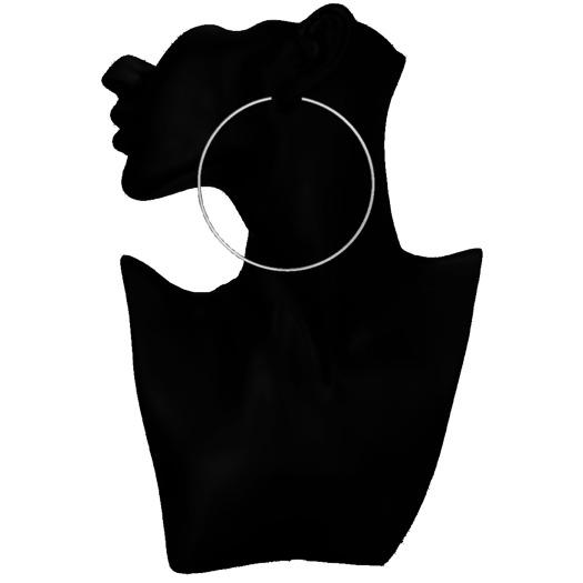 .Fonde. Hoop Earrings - Silver