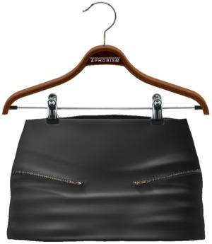 !APHORISM! Jas Leather Skirt - Black