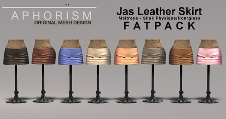 !APHORISM! Jas Leather Skirt - Fatpack