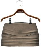 !APHORISM! Jas Leather Skirt - Grey