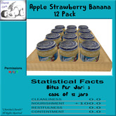 Apple Strawberry Banana 12 pack