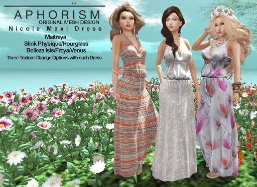 !APHORISM! Nicole Maxi Dress Fatpack