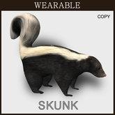[TomatoPark] Wearable Skunk Mesh