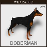 [TomatoPark] Wearable Doberman Mesh