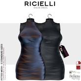 Ricielli Khloe Dress / Dark Iridescent + Dark gray