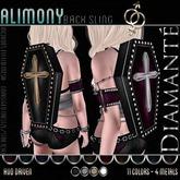 :Diamante: Alimony Back Sling DEMO