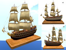 Model Ship - Two Pack