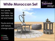 White Moroccan Set Salex Box