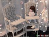 Aphrodite Add-on for: Spring Daisies Vintage Dining room set -Baby & Kids Chair- Tall chair for babies, toddledoo, child