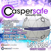 CasperSafe Security Orb and Visitor Tracking System