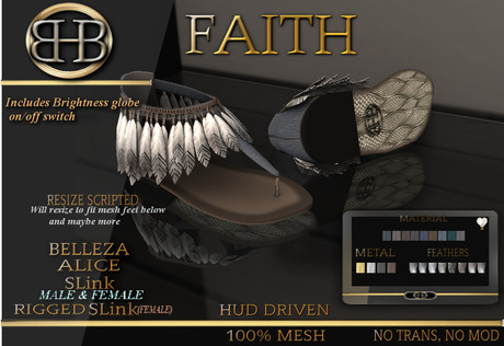 !!BHB!! FAITH SANDALS WITH DENIM HUD ( SUMMER )