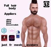 ::BB:: Full body hair soft boxed Tmp-SIGNATURE-ADAM-SLINK-OMEGA