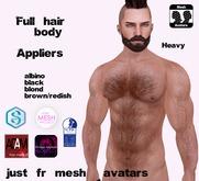 ::BB:: Full body hair heavy tmp-slink-signature-adam & omega